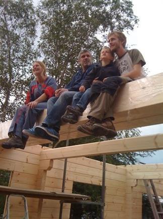 Maisons bois en kit Syma accueil